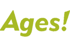 Ages! logo