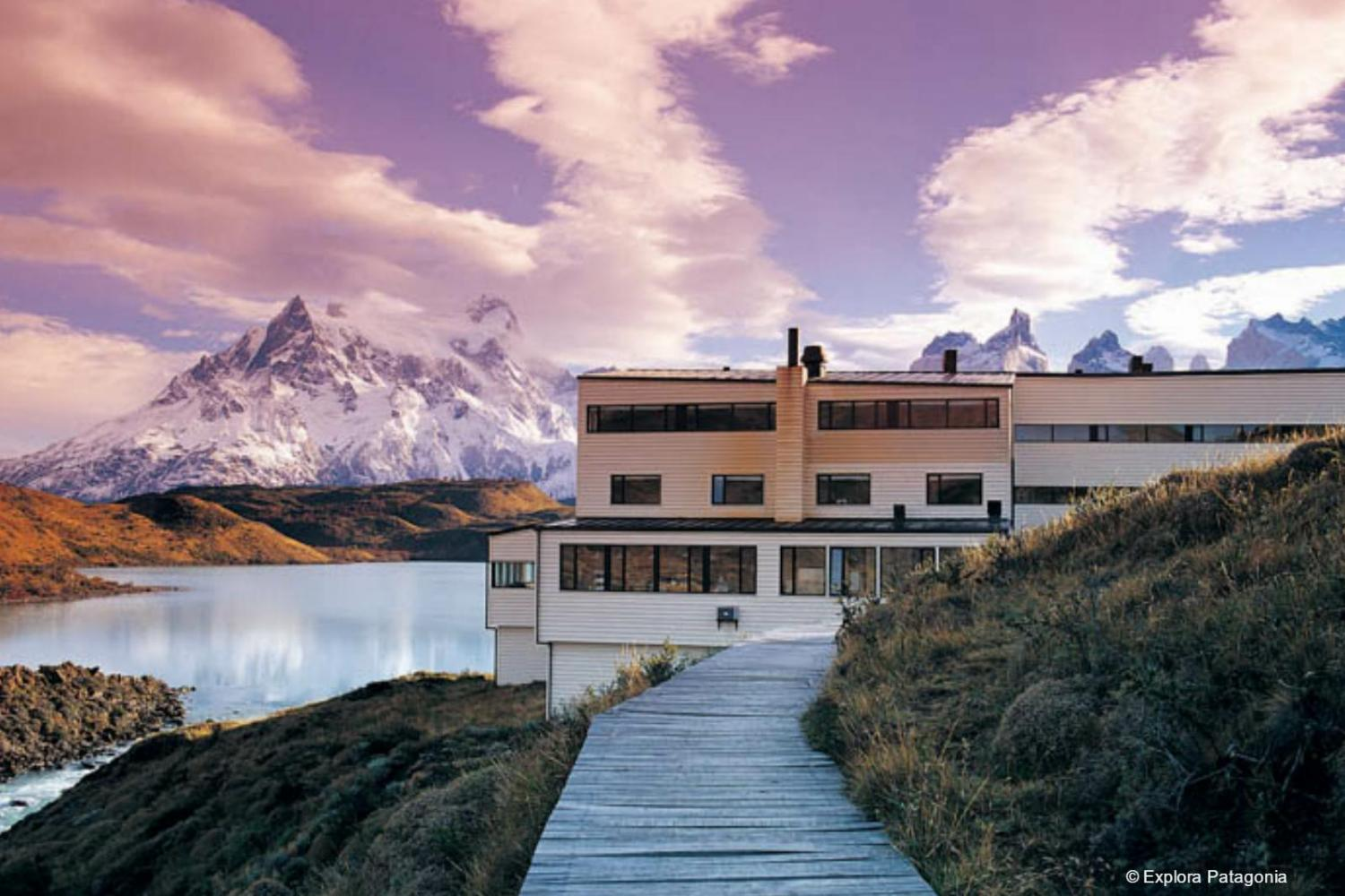 Das Explora Patagonia Hotel in Chile