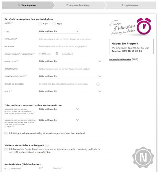 Buchungszeiten Commerzbank Online