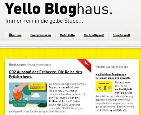 Yello Bloghaus