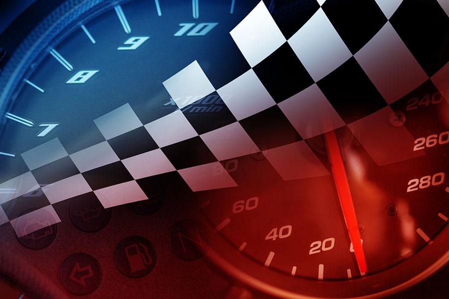 Rennfahrer Werden