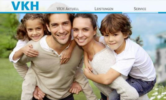 VKH Versicherung Website