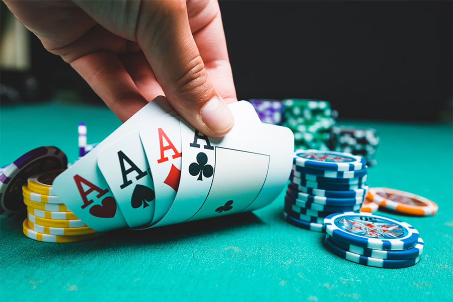 Pokern Spielen
