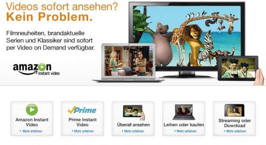 Amazon Prime Kindersicherung