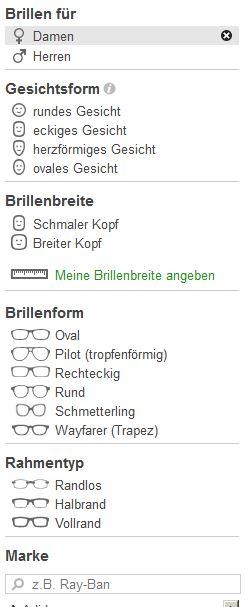 Mister Spex Usability