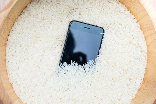 Handy Trocknen Reis
