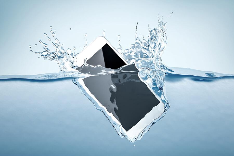 Handy Wasserschaden - Was tun?