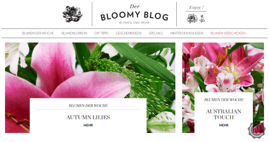 Bloomy Days Blog