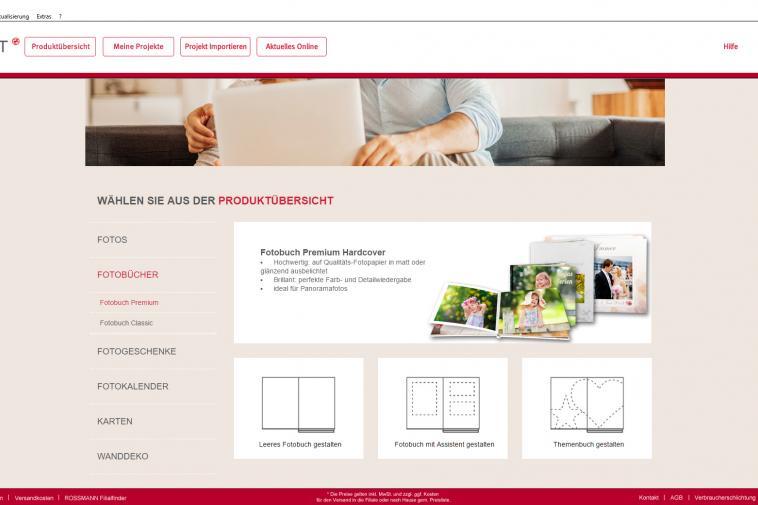 Jetzt Karten Online Gestalten Rossmann Fotowelt