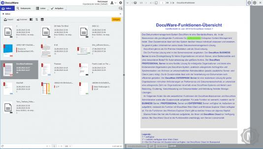 DocuWare One-Click-Indexierung