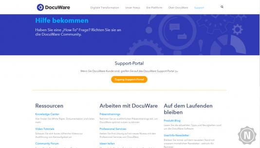 DocuWare Support