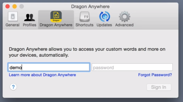 Dragon Mac App