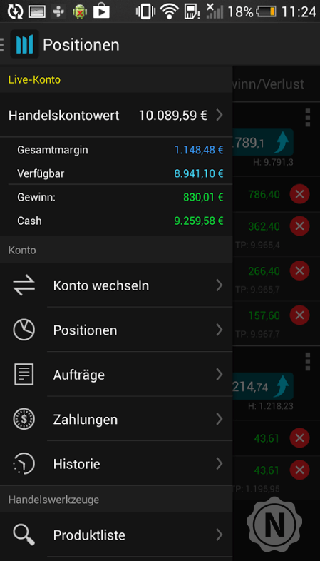 Android App - CMC Markets