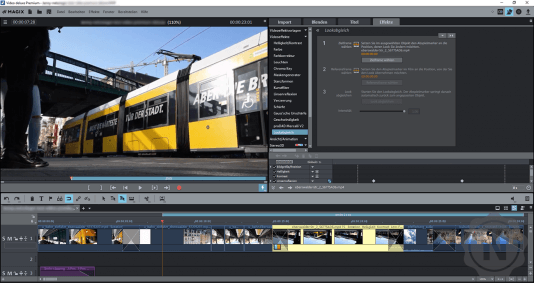 Magix Video Deluxe Premium Lookabgleich