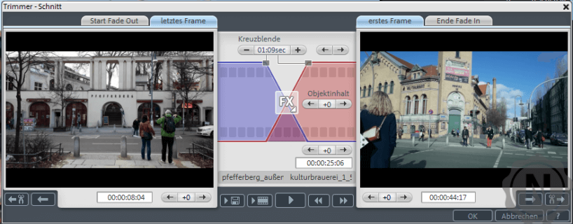 Magix Video Deluxe Premium Trimmerfenster