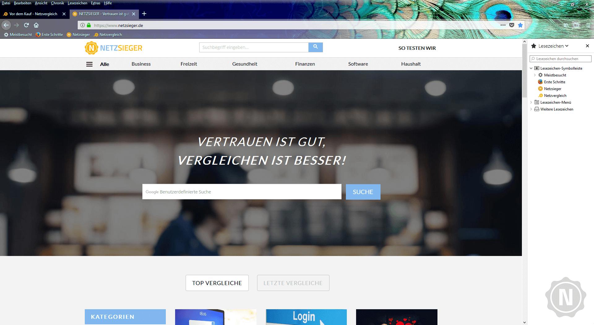 Firefox Test | Netzsieger