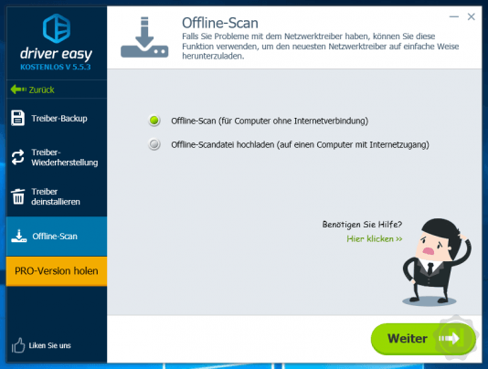 Driver Easy - Offline Scan