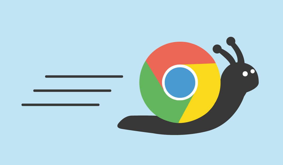 Chrome Langsam