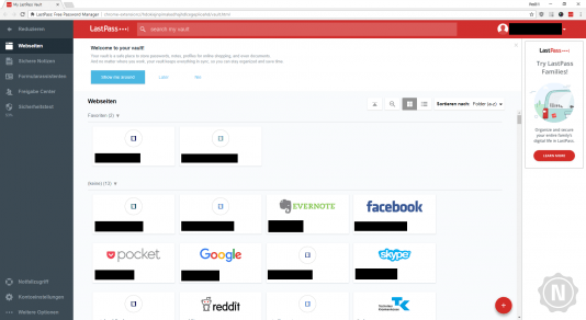 Chrome Plug-in LastPass