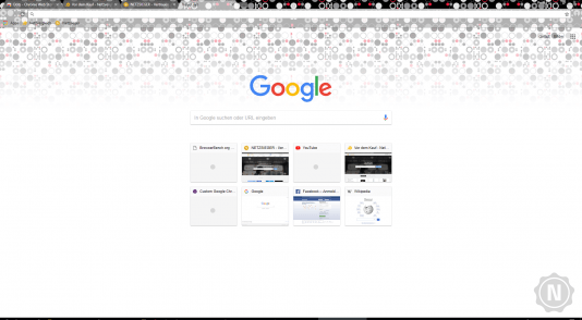 Chrome Theme Dots