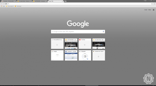 Chrome Theme Pro Grey