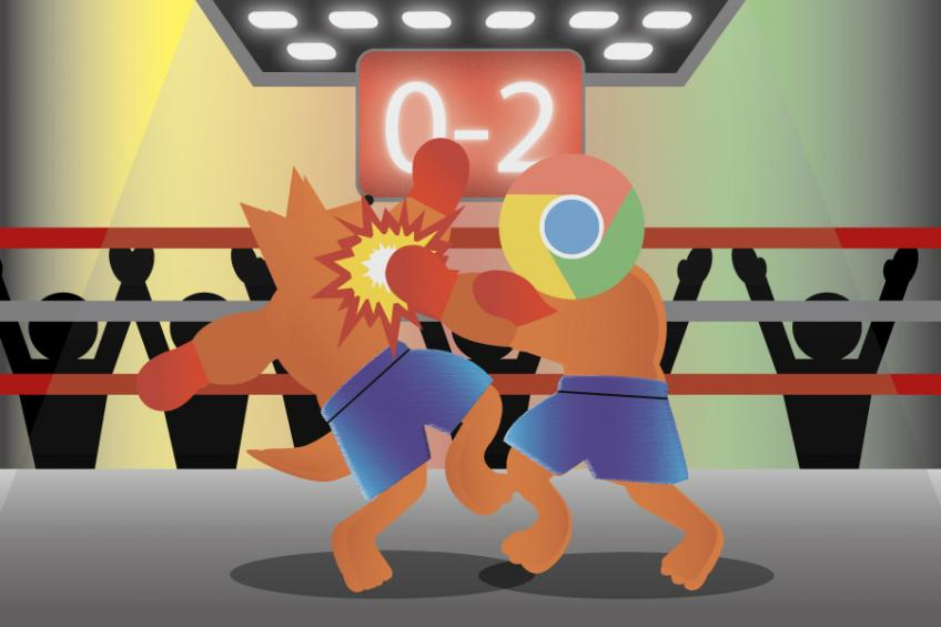 Chrome vs. Firefox 0:2