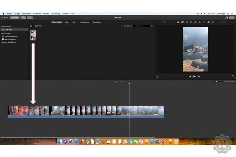 iMovie - Video drehen 1