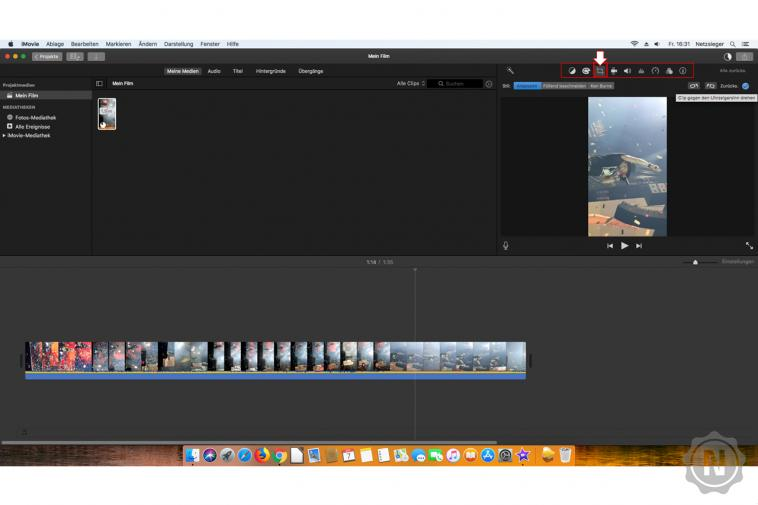 iMovie - Video drehen 2