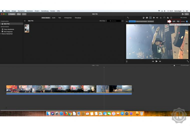 iMovie - Video drehen 3