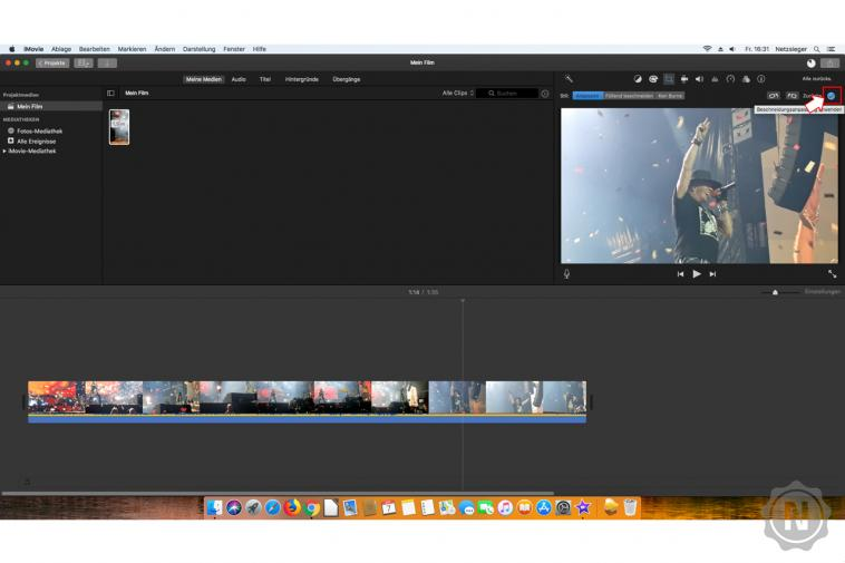 iMovie - Video drehen  4