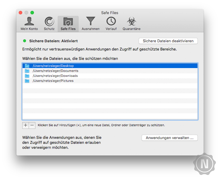 Bitdefender Antivirus for Mac Test | Netzsieger